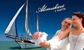 26.000 Ft helyett 12.900 Ft: Esküvő a Balatonon az exkluzív Talizmán Yacht fedélzetén és lakodalom a vízparti Magistern Hotelben