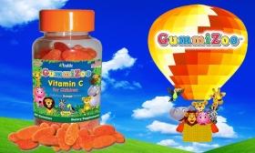 4.990 Ft helyett 2.090 Ft: 60 db 60 mg-os GummiZoo Gumi C-vitamin étrend kiegészítő gyermekeknek a Trulife-tól