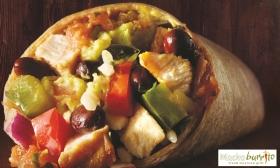 6.640 Ft helyett 3.650 Ft: Páros mexikói menü! Tortillas levessel, választható Burrito-val, pikáns mexikói brownie-val, Coca-Colával a Mucho Burrito-tól