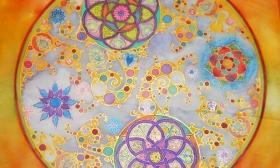 16.990 Ft helyett 7.990 Ft: Egész napos selyemfestő tanfolyam 50x50-es selyem mandalával a NapFényHáz Kulturális Kreatív Műhelyben