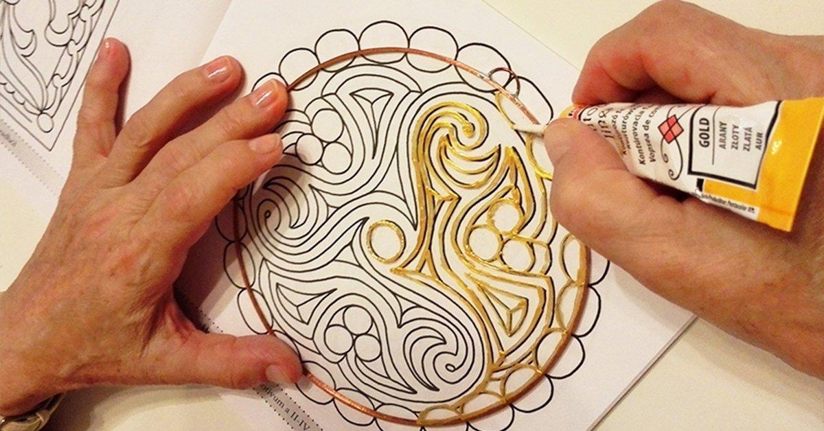 Ha elbűvöl a mandala: 3 órás üveg mandalafestő tanfolyam