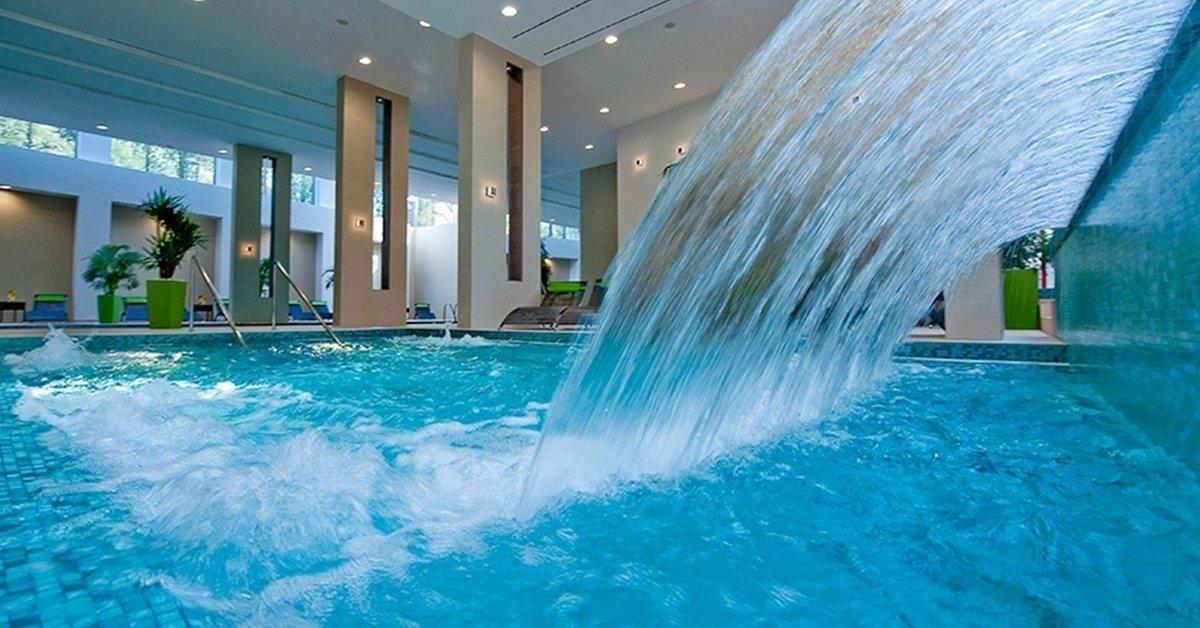 Luxus wellness az Abacus Hotelben, Herceghalmon