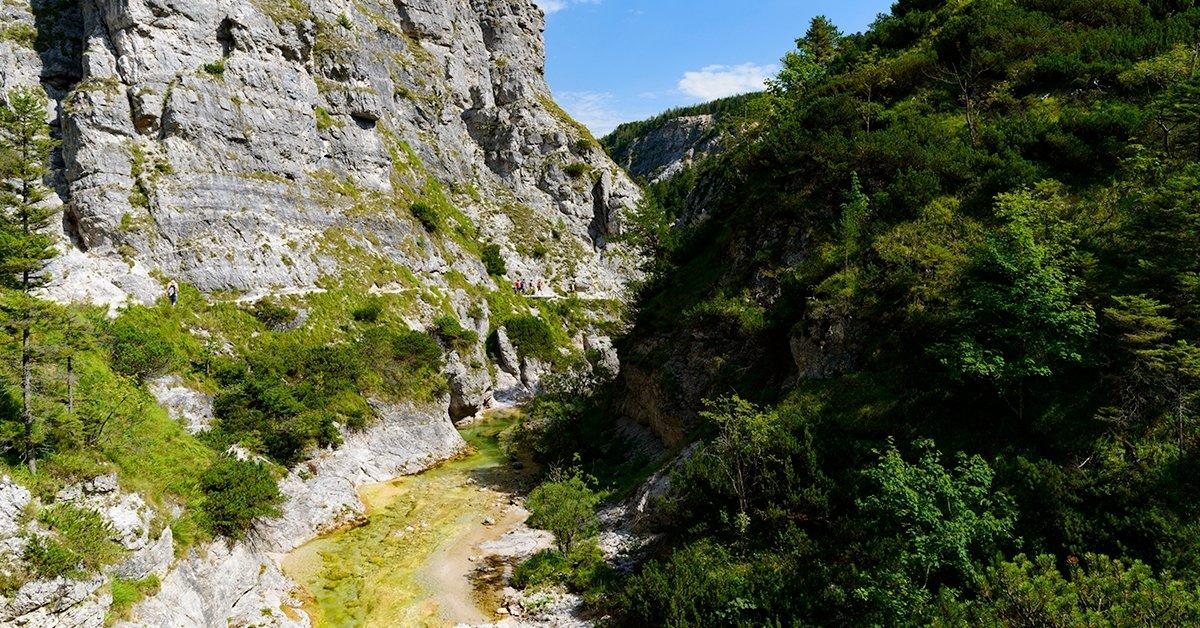 Buszos kirándulás Ausztria leghíresebb szurdokvölgyébe