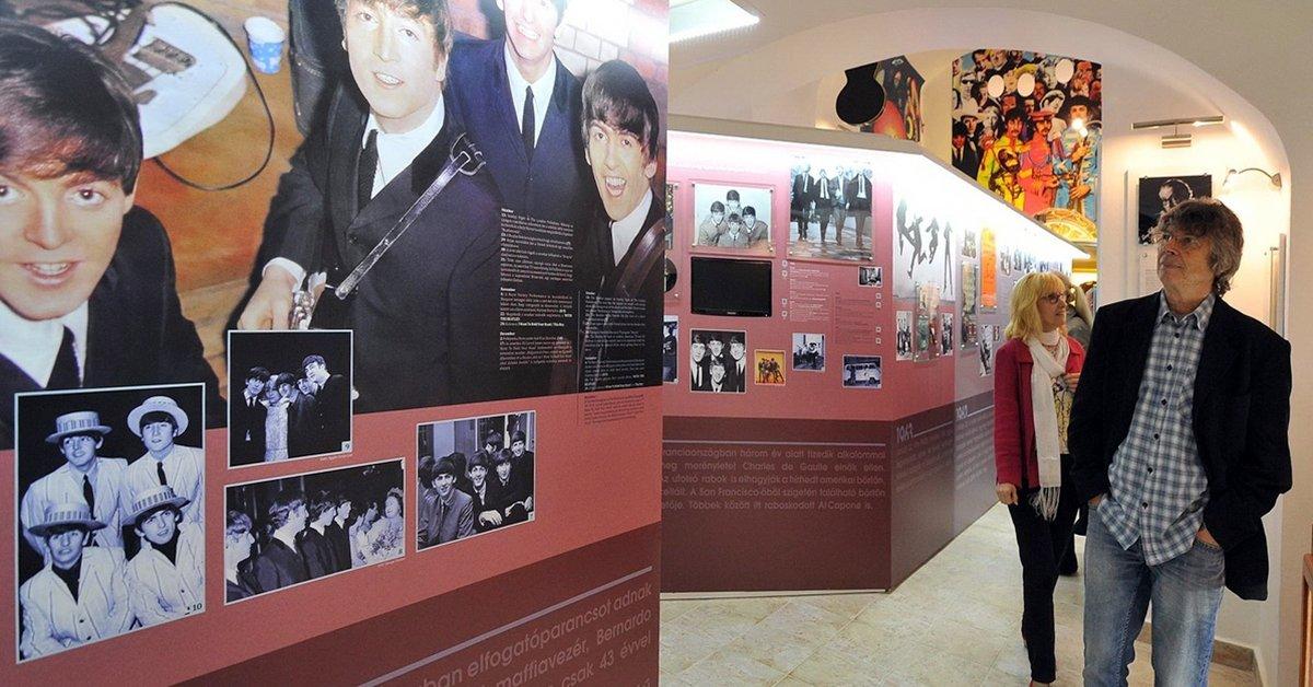 Egri Road BEATLES Múzeum belépő 1 fő részére