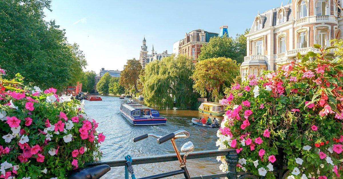 Amszterdami városnézés