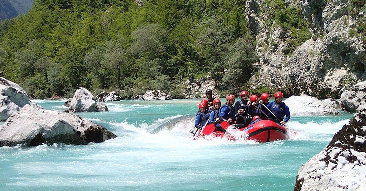 Vadvízi kalandok Szlovéniában 2 éj szállással 1 főnek