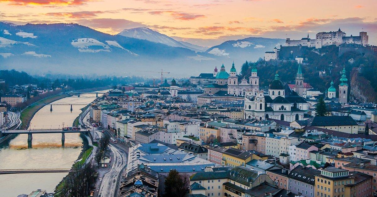 Családi üdülés Salzburgban