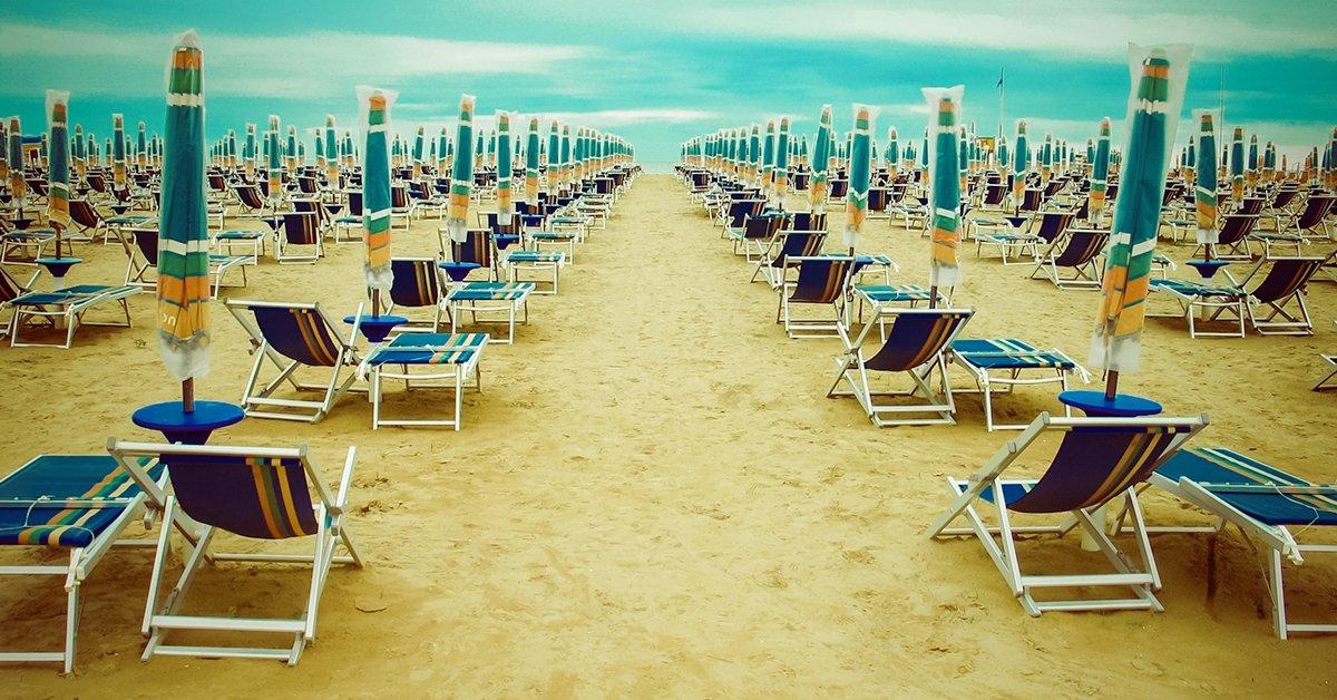 Nyaralás az olasz tengerparton telepített lakókocsiban