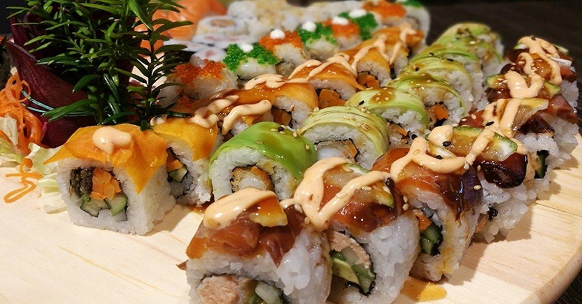 30, 38 vagy 49 darabos sushi válogatás kiszállítással