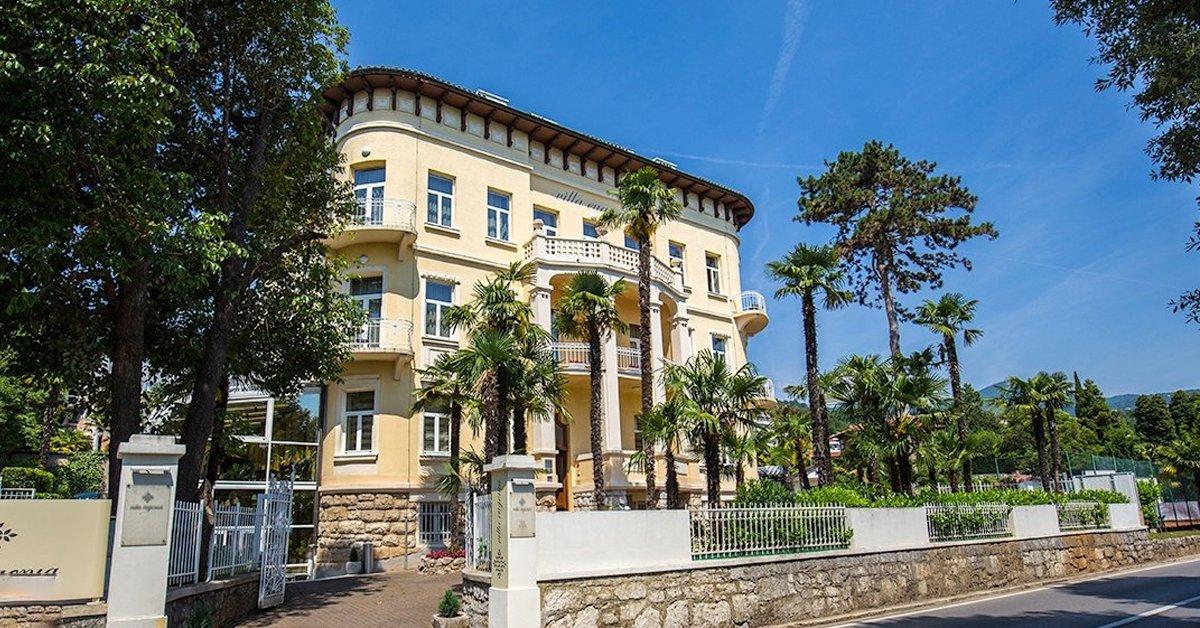 Mesés horvátországi pihenés: Villa Eugenia Hotel