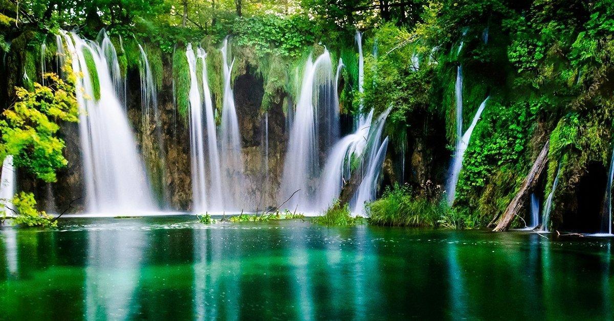 Busszal a Plitvicei-tavakhoz tavasszal: 1 napos kirándulás