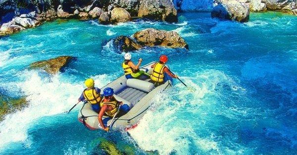 Kalandos rafting hétvége Boszniában szállással és ellátással
