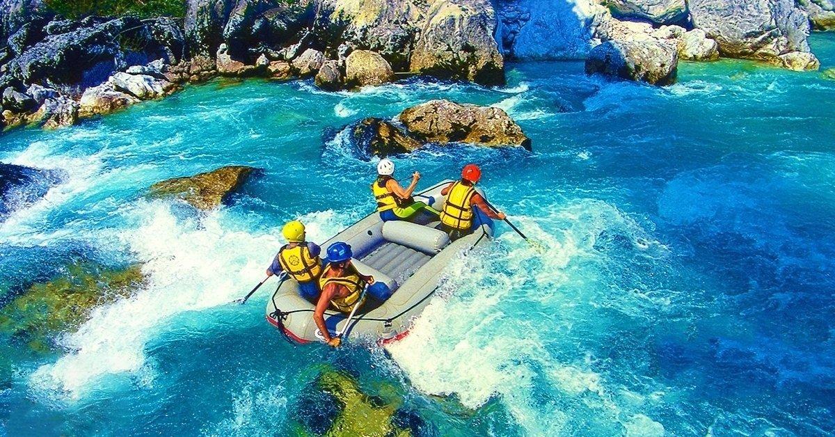 Rafting hétvége Boszniában