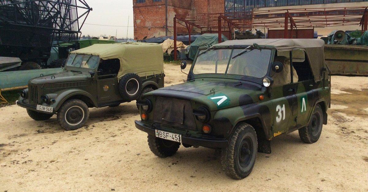 Katonai terepjáró vezetés: UAZ 469, GAZ 69 vagy G Mercedes