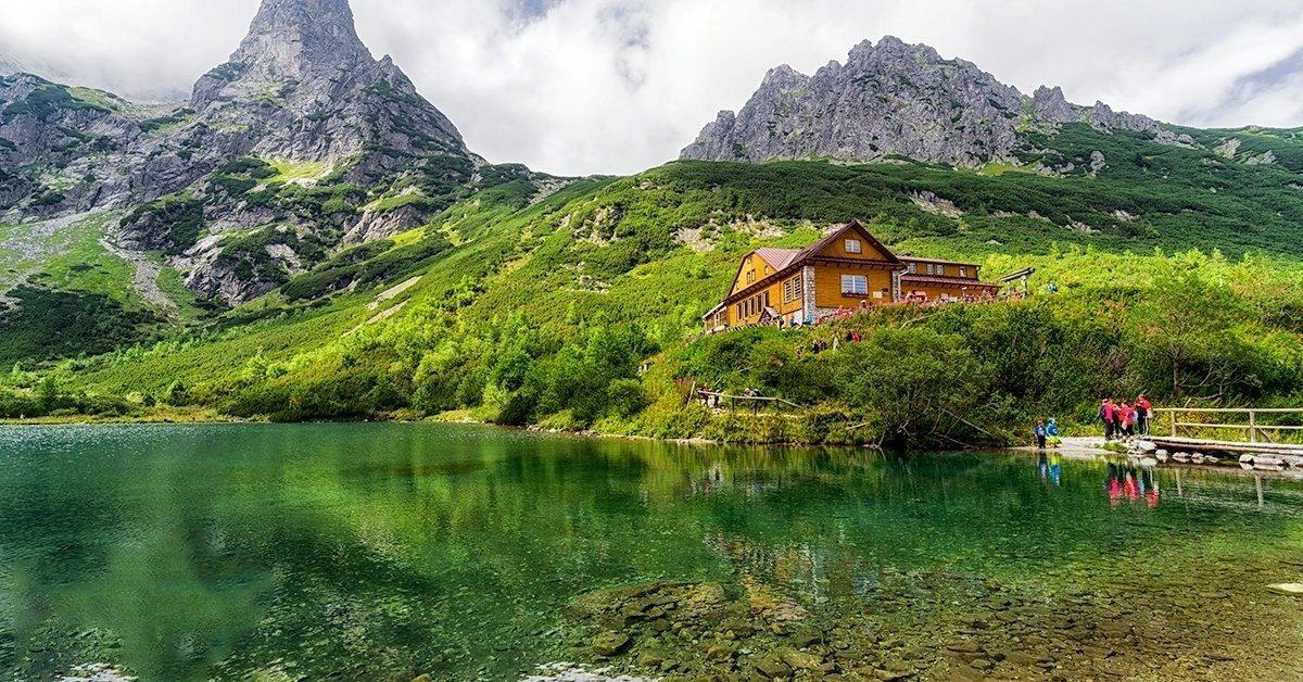 Bakanccsal a Zöld-tóhoz