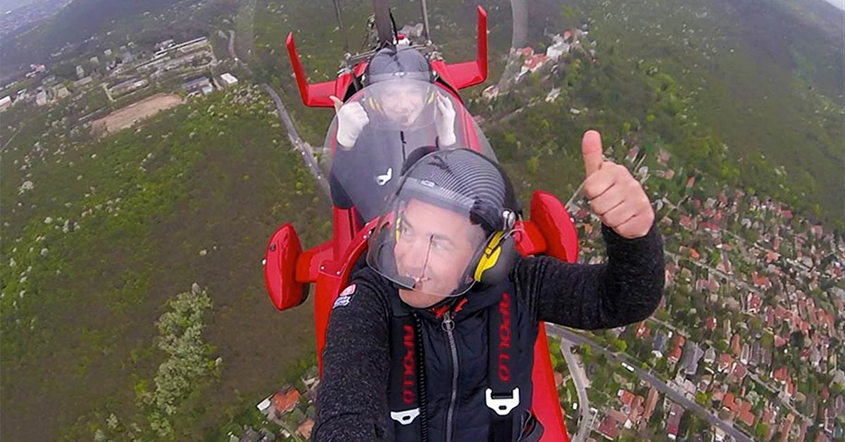 Egyedülálló repülési élmény: Autogiro repülés