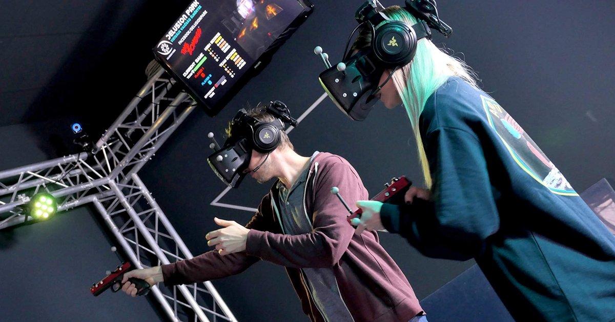 Egyórás VR játék csomag 1 vagy 2 fő részére