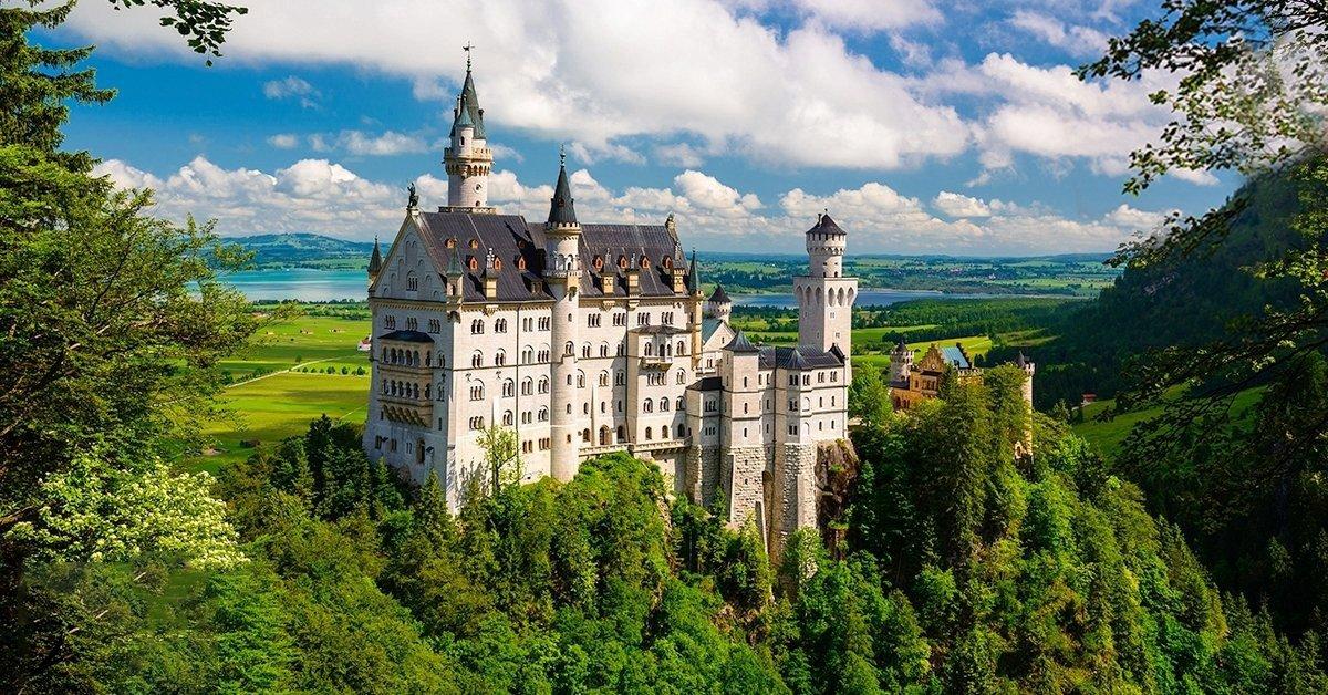 Kirándulás a Neuschwanstein kastélyhoz és Salzburgba busszal