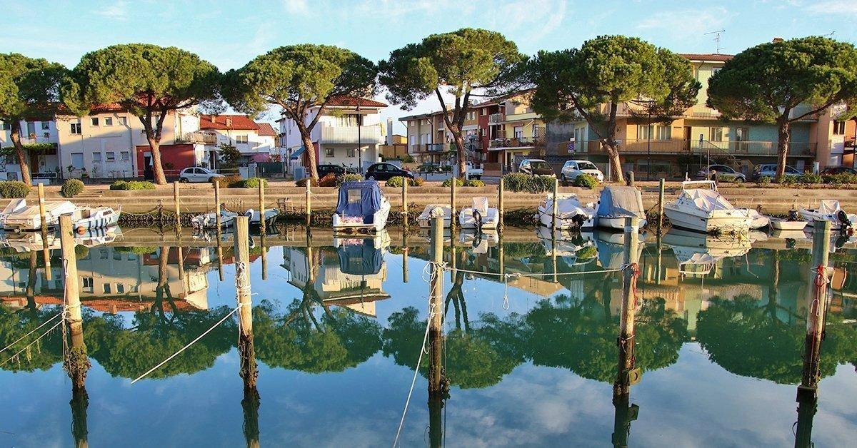 Lakókocsis pihenés Olaszországban, Grado közelében