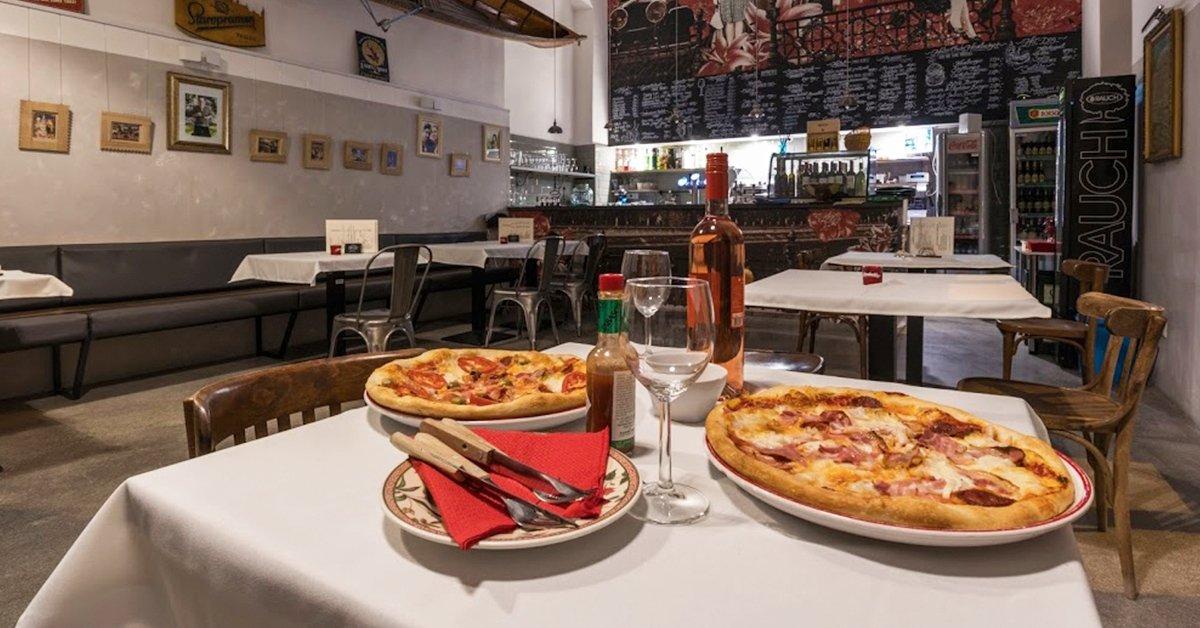 Kerek romantika: 2 db pizza a Nagy Vásárcsarnok mellett