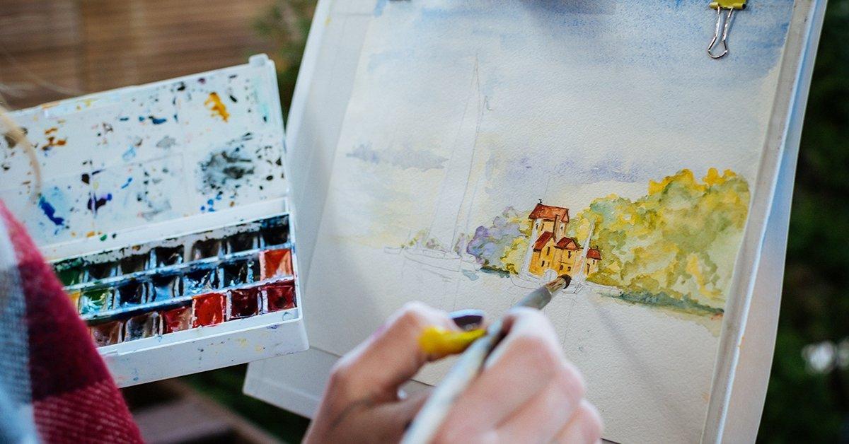 Egy csipetnyi kreativitás: intenzív akvarell tanfolyam