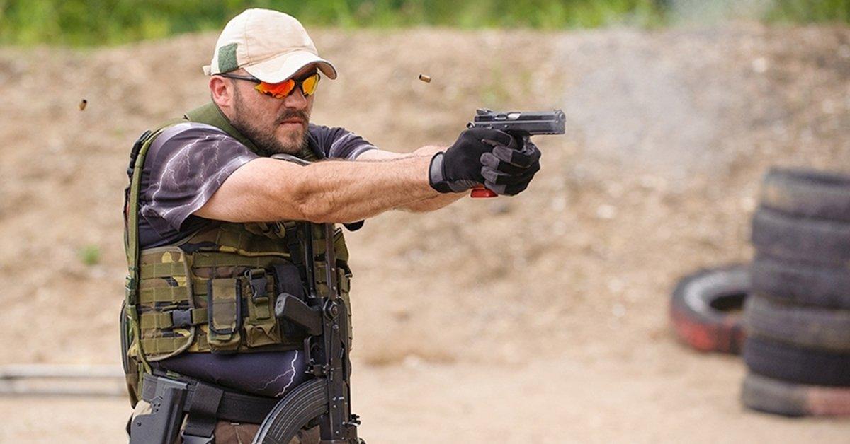 Nagy kaliberű élménylövészet 9 mm-es fegyverrel