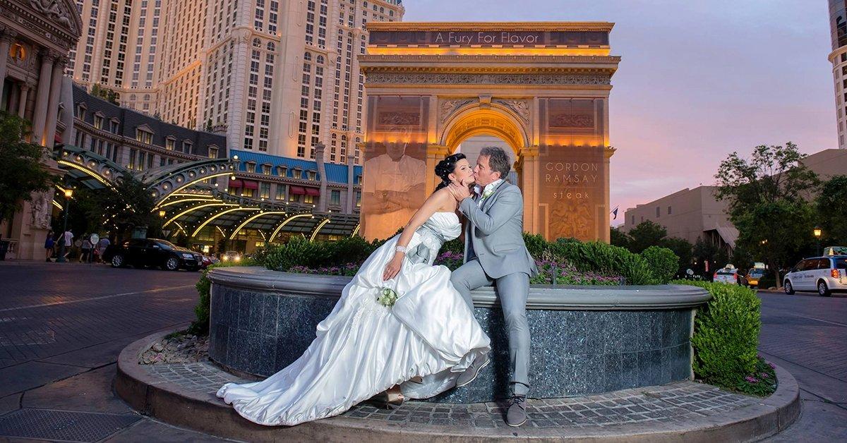 Először a Brigádon! Esküvő a Las Vegas Strip-en