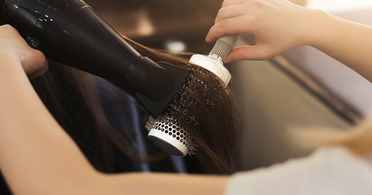 Mosás, vágás, szárítás keratinos hajápolással rövid hajra