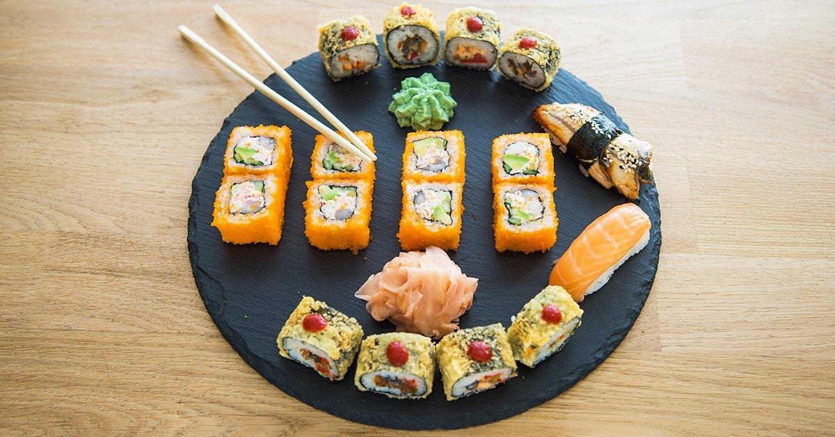 Mindenből a legjava: 6 féle választható sushi válogatás