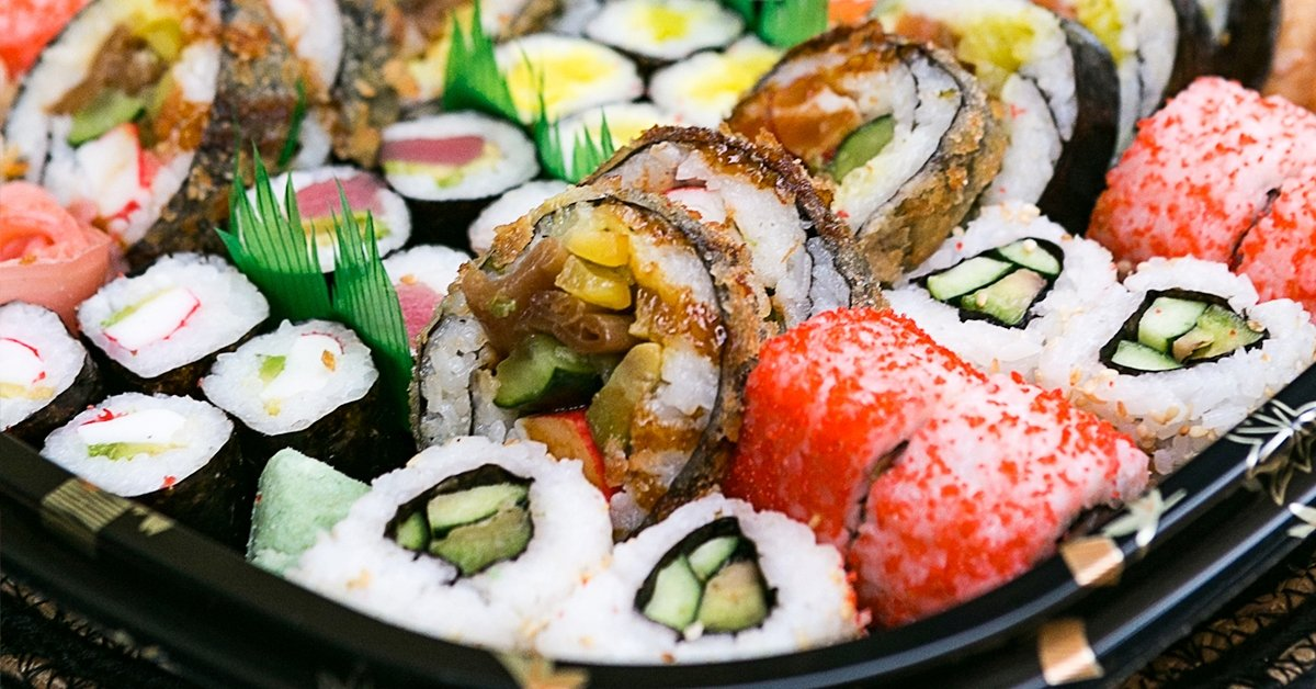 Sushi combo menü 2 fő részére házhozszállítással