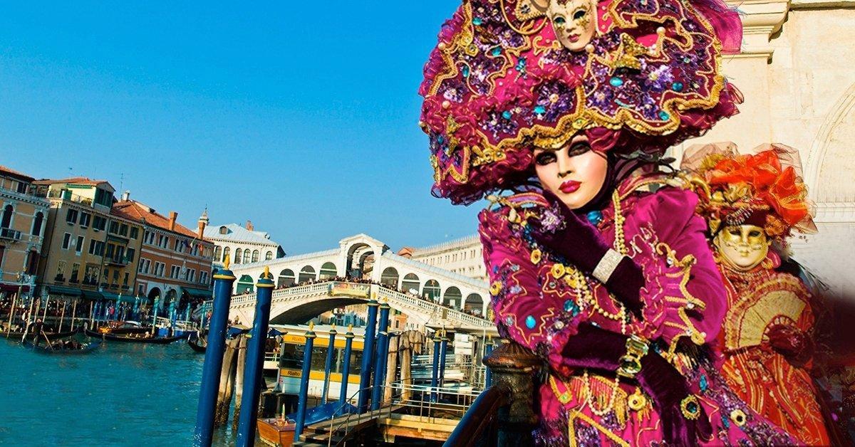Velencei karnevál busszal