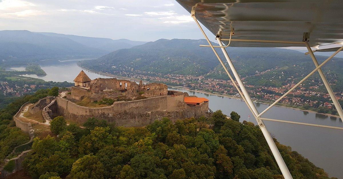 Repülős kalandozás a jól ismert Keszy-Harmath Zoltánnal