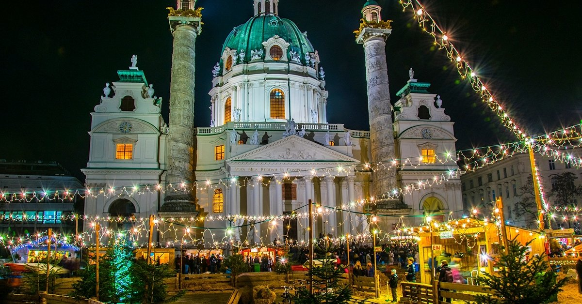 Adventi városnézés Bécsben: 1 napos buszos utazás 1 főre