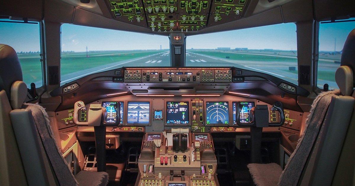 Repülőgép szimulátor vezetés 1 fő részére