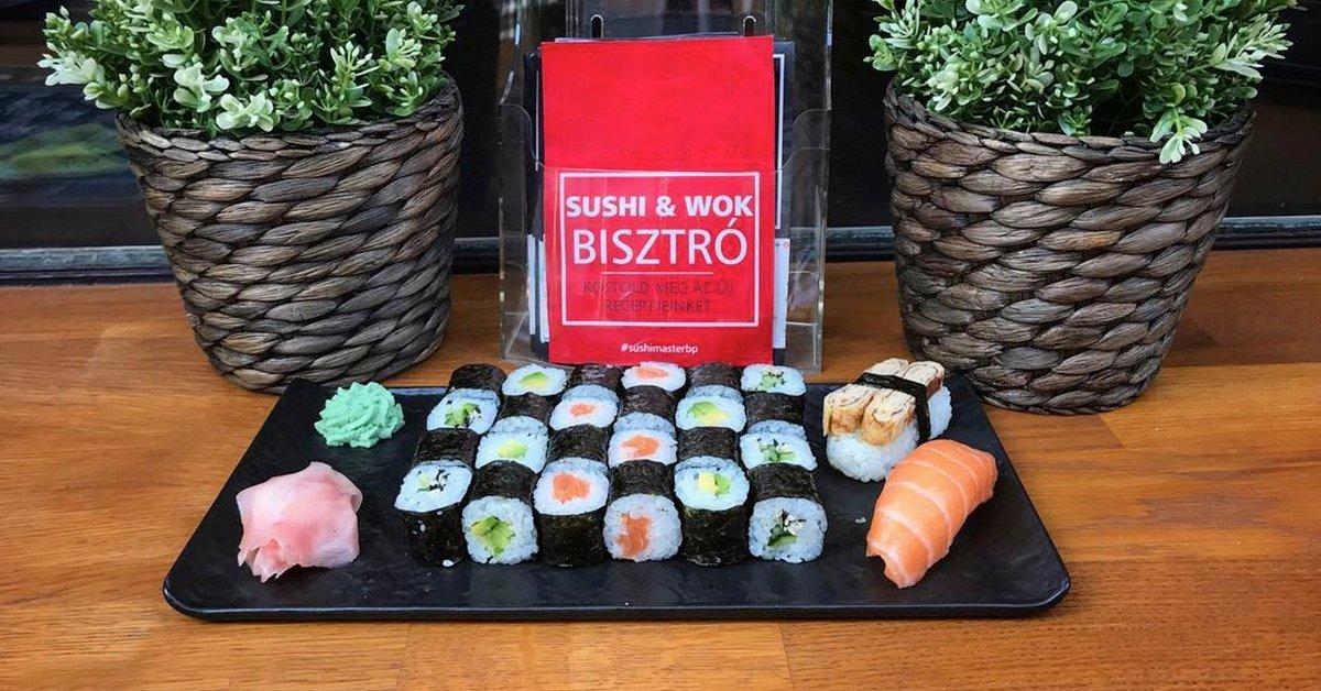 A japán konyhaművészet legjava: sushi válogatás 2 fő részére