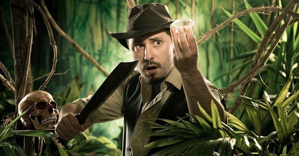 Indiana Jones és a bölcsek köve: kémjáték párok részére