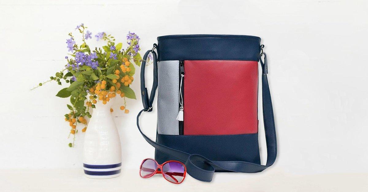 Személyre szabott designer táska egyedi mintával