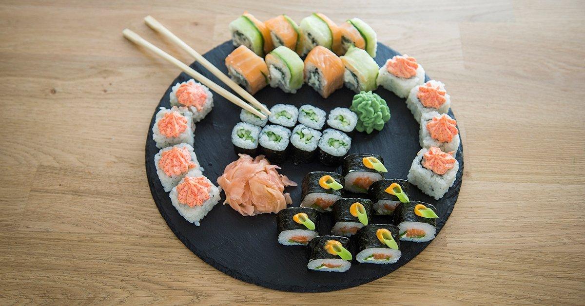 Mindenből a legjava: 4 féle sushi válogatás