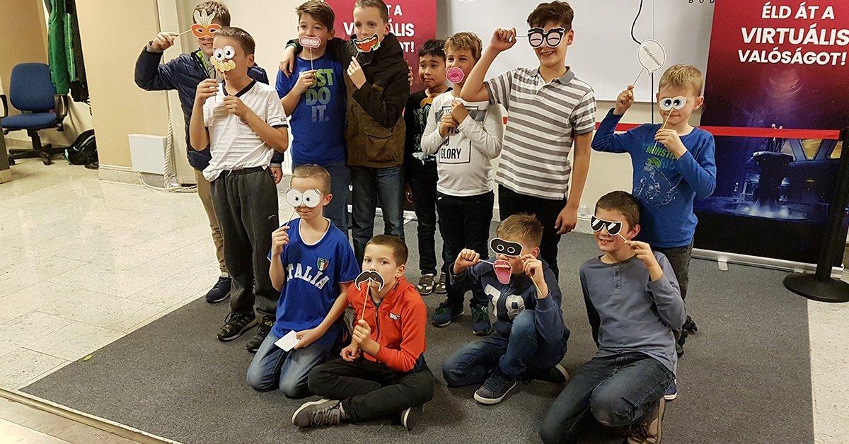 VR szülinapi parti akár 16 fős csapatoknak, 8-16 éves korig