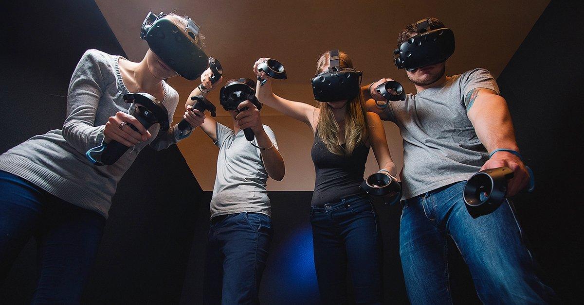 Virtuális kalandozás: VR csapatjáték, 3-6 fős társaságoknak