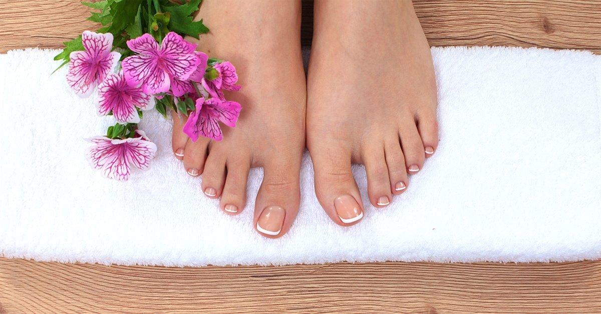 A puha léptekért: pedikűr paraffinos lábápolással