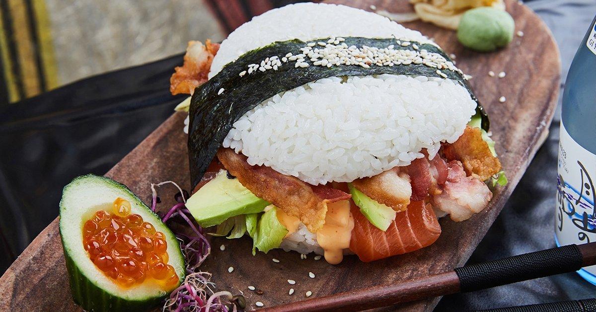 Ilyet még nem ettél: exkluzív Sushi Burger menü 1 főre