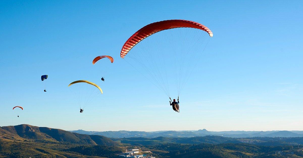 A fellegekbe repít: 2 napos siklóernyős tanfolyam