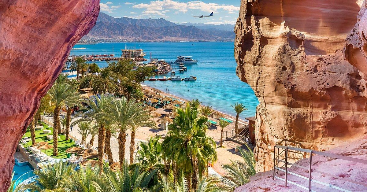Napozás a Vörös-tenger partján, repülővel Eilatba 1 főnek