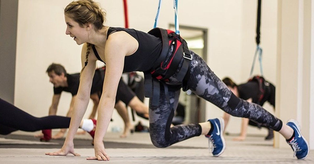 Különleges edzés: 1 vagy 5 alkalmas bungee fitnesz