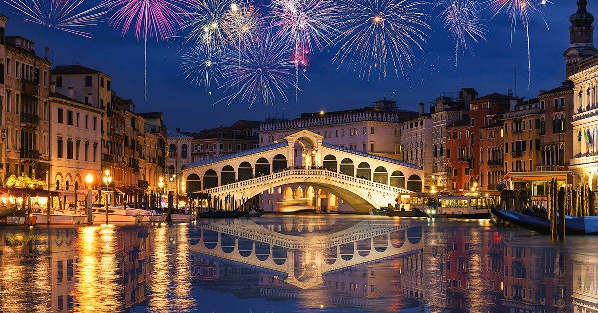 Újév köszöntése Velencében: buszos út padovai látogatással