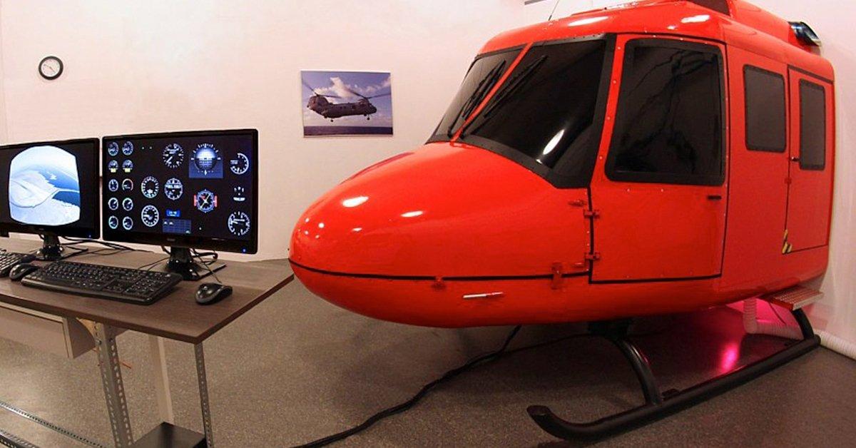 Valódi pilóta élmény: helikopter vezetés profi szimulátorban