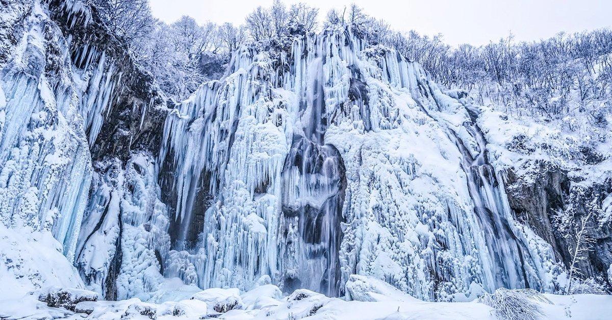 Varázslatos jégvilág: téli túra a Plitvicei tavaknál 1 főnek