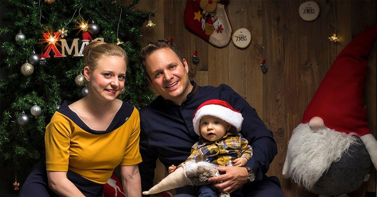 Karácsonyi fotózás 150-200 darab fotóval