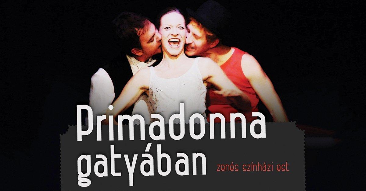 Belépő a Primadonna gatyában című zenés előadásra